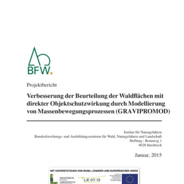 77 Waldflächen Objektschutzwirkung