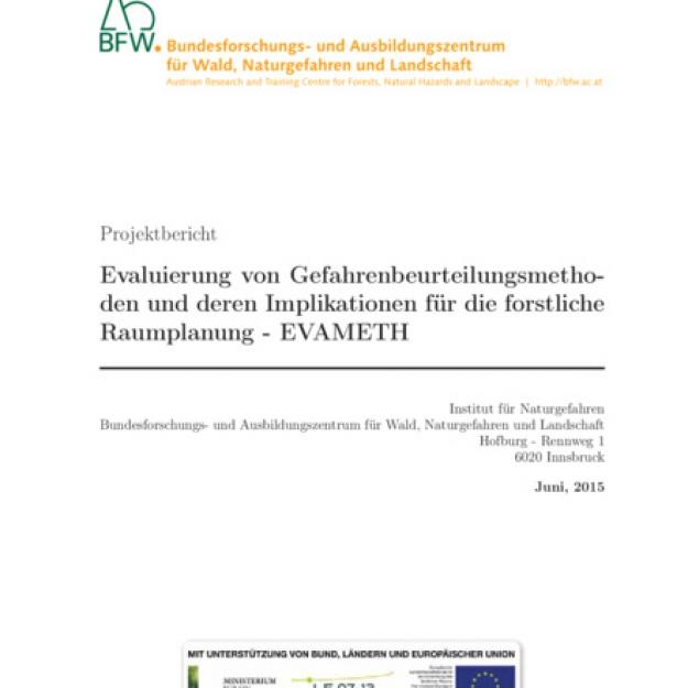 82 Evaluierung von Gefahrenbeurteilungsmethoden