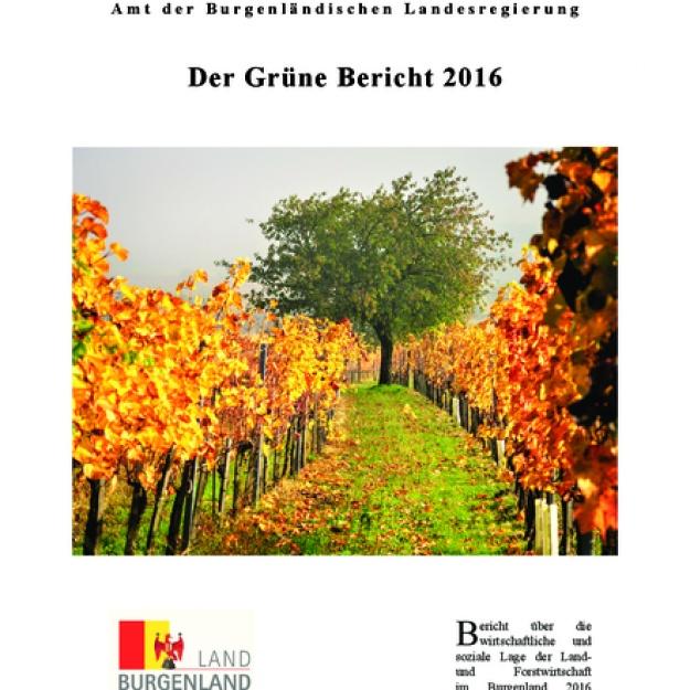 Grüner Bericht Burgenland 2016