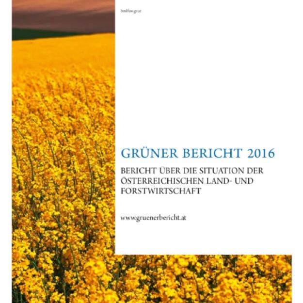Grüner Bericht 2016
