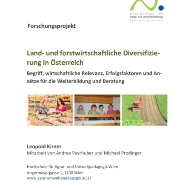 Land- und forstwirtschaftliche Diversifizierung