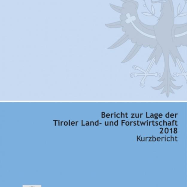 Grüner Bericht Tirol 2018