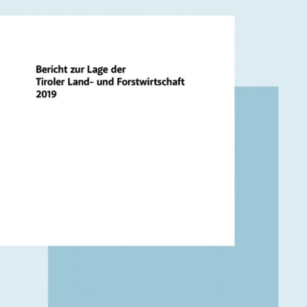 Grüner Bericht Tirol 2019