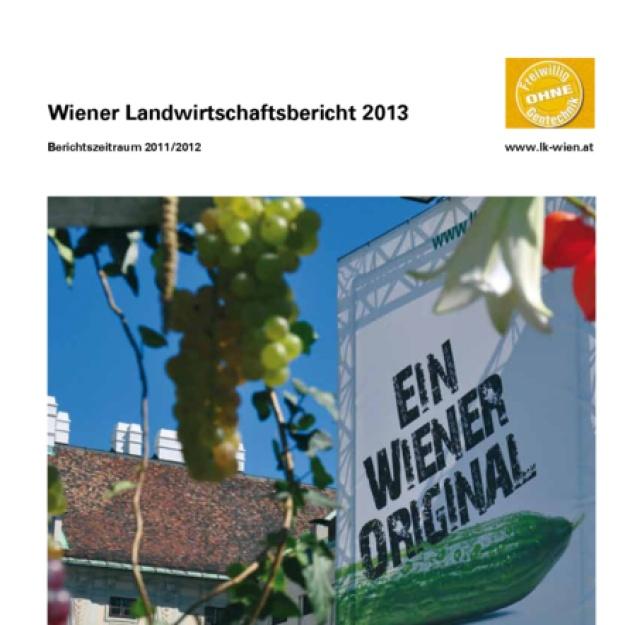 Wiener Landwirtschaftsbericht 2013